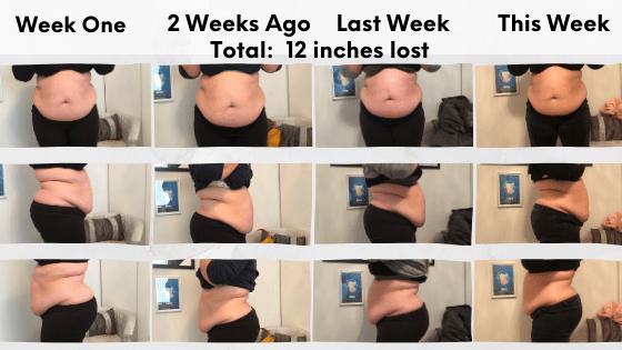 Week on week progress