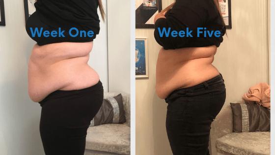 Week One vs Week 5