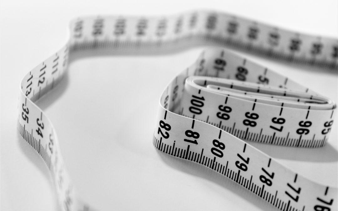 tape measure selective focus